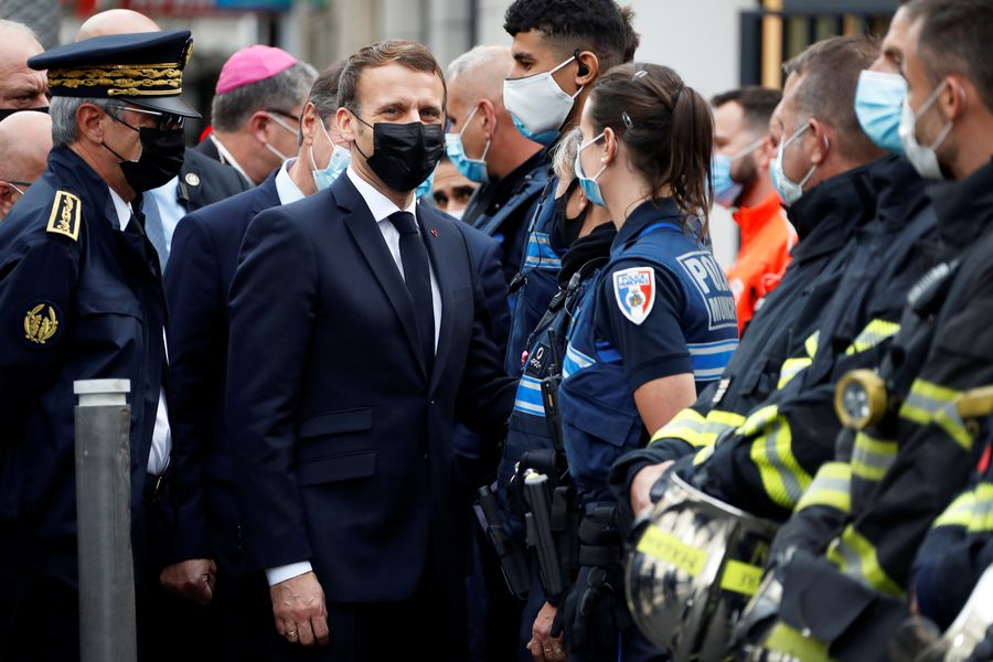 French President Emmanuel Macron said that the country was again subjected to a terrorist attack
