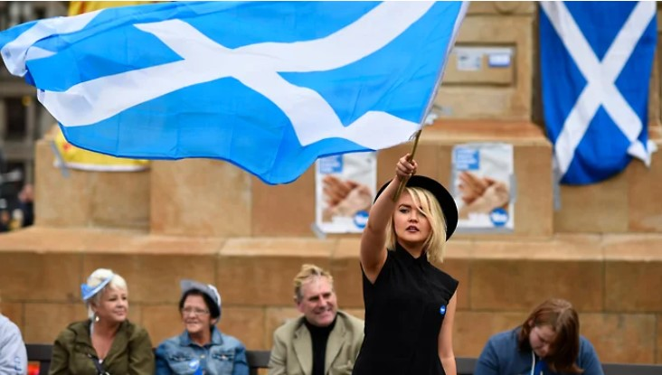Scotland is marking time at the exit