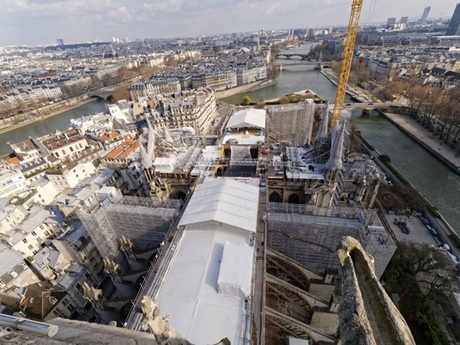 Fundraising for the restoration of Notre Dame Cathedral continues