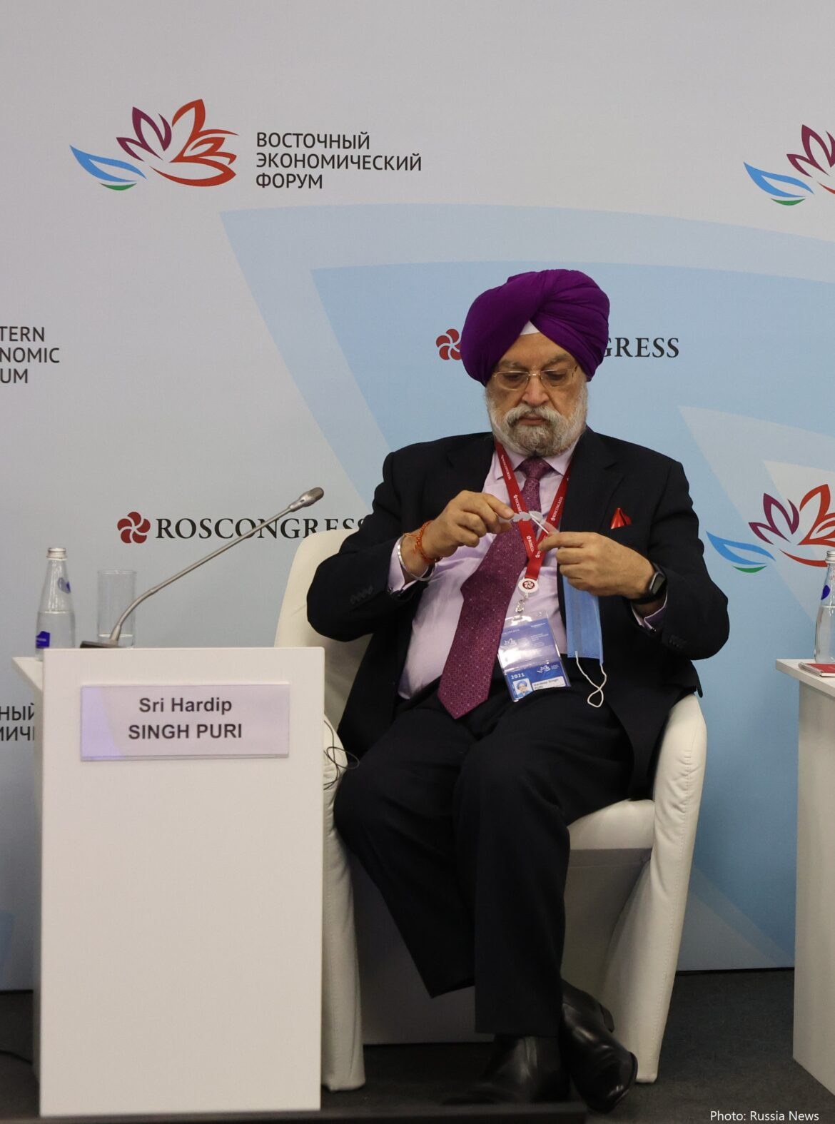 Shri Hardeep Singh Puri, the Indian Minister of Petroleum and Natural Gas: «Russia is a very important strategic partner for us in the energy sector»